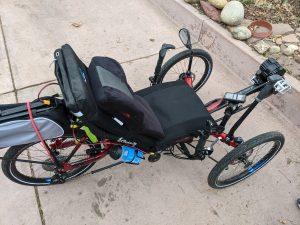 Recumbent e-bike